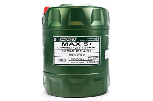 Fanfaro Max 5+ 80W-90 GL-4/GL-5 Getriebeöl 20l