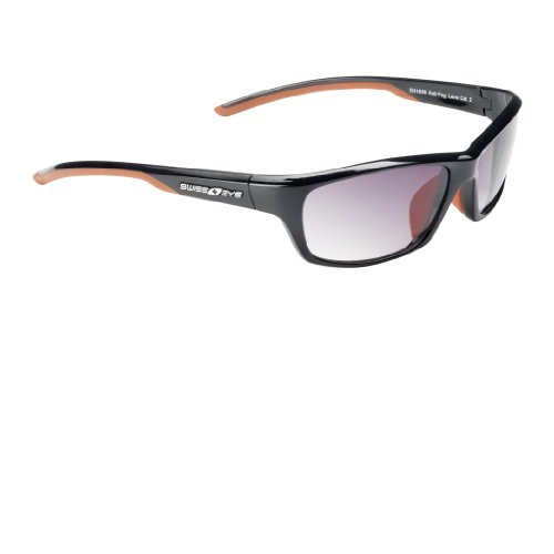Swiss Eye Sportbrille Python, Black Shiny, One Size, 14292