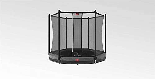 Berg Favorit inground 330 11ft Trampoline Grey + Safety net Comfort