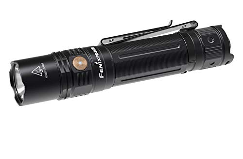 Fenix Lighting Fenix PD36R Rechargeable Flashlight, Black