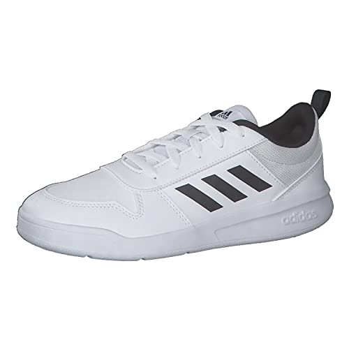 adidas Unisex TENSAUR K Running Shoes, Ftwbla Negbás, 6 UK