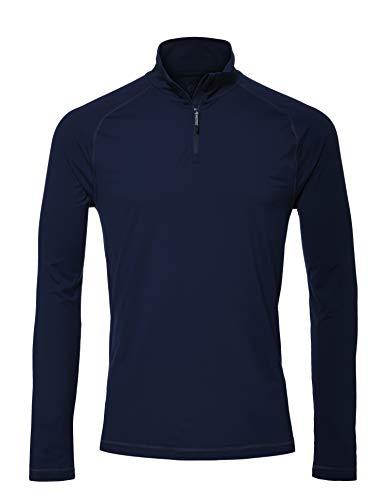 CARE OF by PUMA Men's Tech 1/4 Zip Top, Blue (Navy Blazer), EU M (US M)
