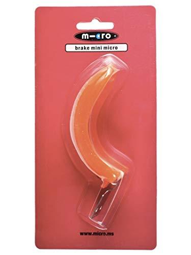 Micro Freno Original Patinete Mini Micro, Patinete de Tres Ruedas 2-5 años. (Naranja (Mini Micro Classic))