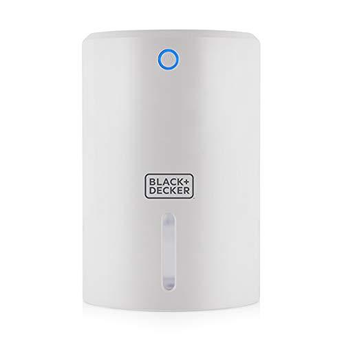BLACK+DECKER BXEH60001GB 900ml Portable Mini Dehumidifier, White