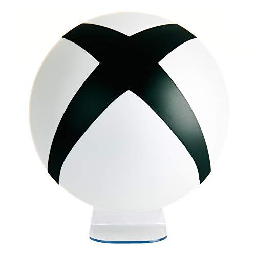 Microsoft XBox 3D Lampe Logo schwarz/weiß, rund, USB- oder batteriebetrieben.