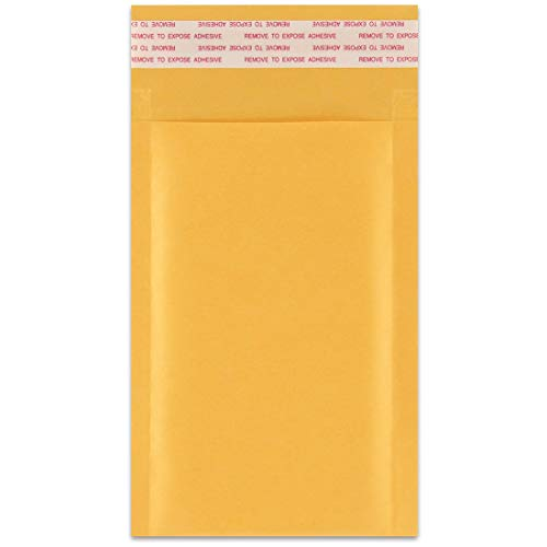 25 Pack 6 x 10-inch ShipQuick Bubble Mailer Envelopes with Hot Melt Glue Adhesive Thick /& Flexible Envelopes Strong Envelope Bags with Bubble Padding Bubble Mailer Envelopes Lightweight