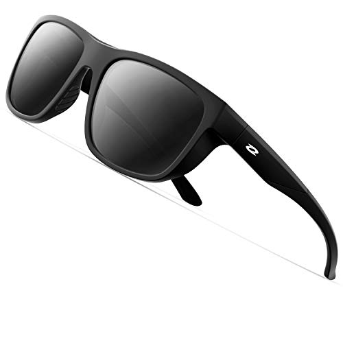RIVBOS Polarized Sports Sunglasses for Men Women Driving Shades...