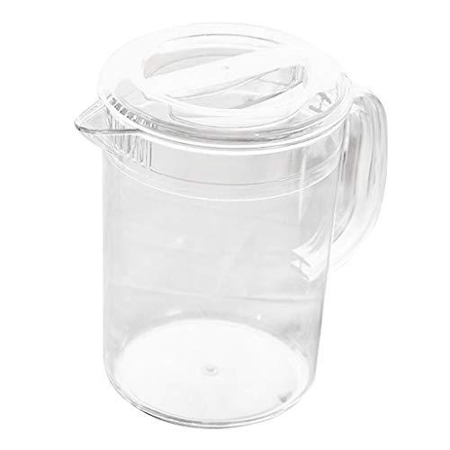 SDENSHI Acrílico Bebida Bebida Agua Jugo Servir Jarra Dispe