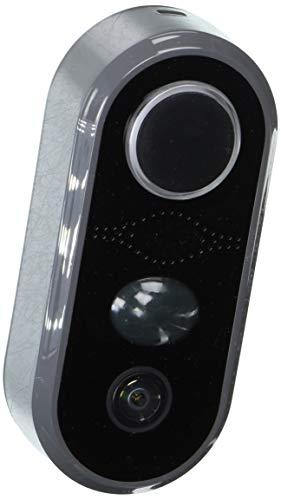 Heath Zenith SL-3012-00 Elite Notifi Video Doorbell, Black