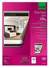 """Sigel© Fotopapier fr Farb-Laser/-Kopierer, 2-seitig hochgl""""nzend, 135 g/mý, A4, 200 Blatt"""