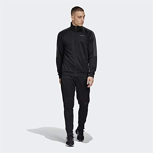 adidas SERE19 TS Survêtement Homme, Black/Grey Six, FR : L (Taille Fabricant : 4446)