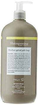 BEAPHAR – Shampoing premium démêlant pour chien aux poils longs – Aux extraits naturels de céramides végétales & d'avoine – Démêle et nourrit – Pelage brillant – pH neutre & sans parben – 750 ml