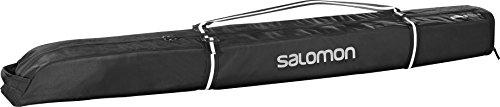 Salomon Extend Skibag Bolsa de esquís expandible, 185 cm, Negro
