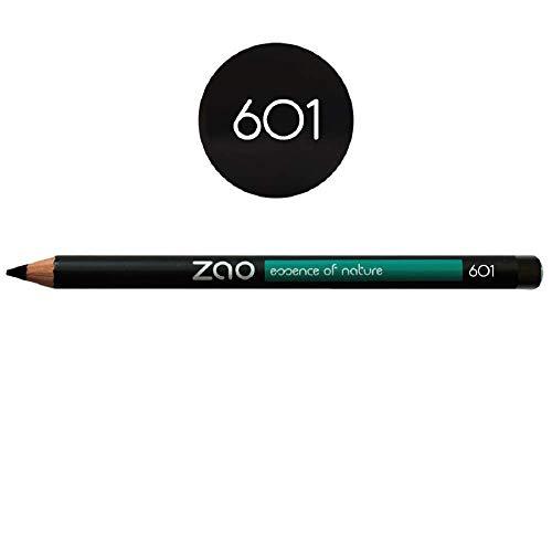 Zao - Crayon en bambou - Yeux, lèvres et sourcils - N° 601 / Noir - 1,17g