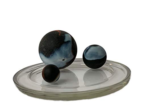 Glass Marble 43 mm by My GlassMarble 2 Very Large Marbles Matisse mesbilles MyGlassMarbles