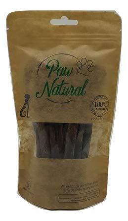 Paw Natural Golosinas para perros, 150 g, tiras de caballo, 100% sin gluten ni cereales, de carne fresca y saludable