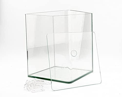 NatureHolic Cube - Aquarium Cube + Abdeckscheibe - vers. Größen, Größe:60 Liter