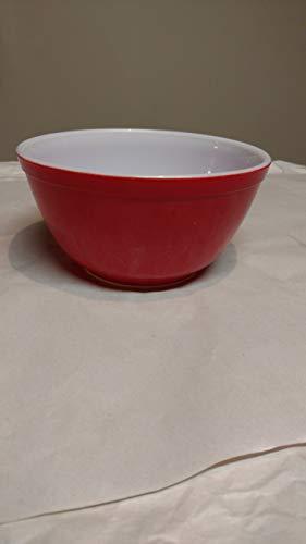 Pyrex Red 1 1/2 Quart Primary Mixing Bowl