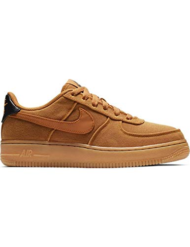Nike Air Force 1 Lv8 Style (GS), Zapatillas de Deporte para Niños, Multicolor (Monarch/Monarch/Gum Med Brown/Black 800), 37 2/3 EU