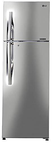 LG 308 L 2 Star Inverter Linear Frost-Free Double-Door Refrigerator (GL-T322RPZU, Shiny Steel, Convertible)