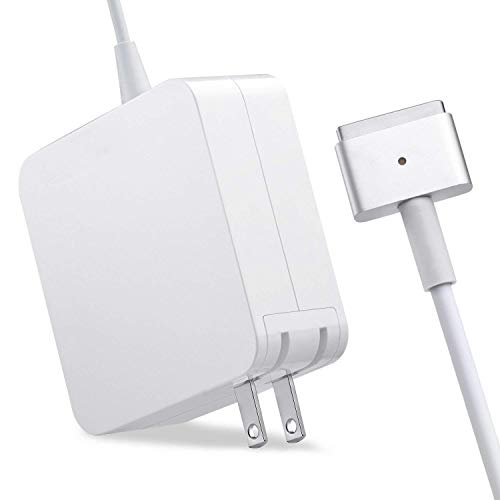Absir AC 45W Magsafe2 T-Tip Power Adapter Charger for MacBook Air 11/13 inch (MacBook Air Released After Mid 2012) AU plug