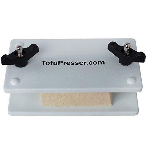 The Original Simple Tofu Press by TofuPresser - The Easiest Way to Remove Water From Your Tofu