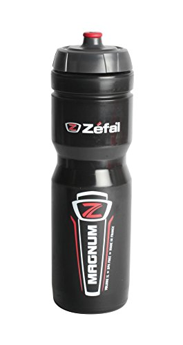 Zefal Unisex– Erwachsene Trinkflasche Magnum, schwarz, one size