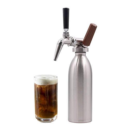 BeyondTheBean Nitro Cold Brew Maker | Portátil en casa barril de café para Nitro Coffee | Infusor de nitrógeno portátil | Ideas de regalo de café | Nitro Cold Brew Starter Kit para DIY