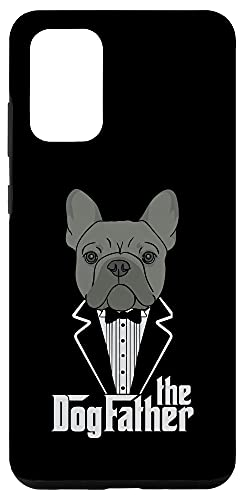 Galaxy S20+ The Dogfather! French Bulldog Dad Frenchie Papa T-Shirt Gift Case