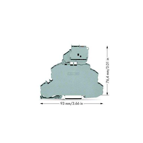 WAGO–3von Sicherheit Zange 5x 20mm 2002–2611/1000–541