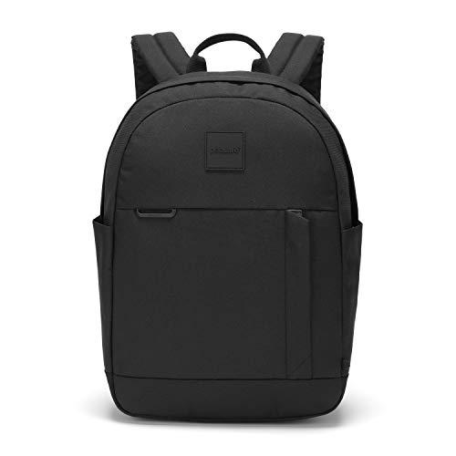 Pacsafe 35110100 Go 15L Anti-Diebstahl Rucksack, Sicherheits-Reise-Rucksack, mit RFID-Schutz, schwarz