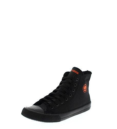 HARLEY-DAVIDSON Herren High Top Sneaker Schwarz, Schuhgröße:EUR 46