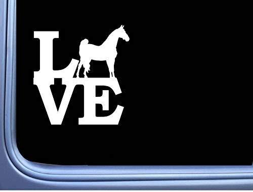 Morgan Liefde Sticker Lll2 6 Inch Paard Rescue Stickers