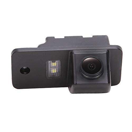 HD CCD Rückfahrkamera Farbkamera Einparkkamera Nachtsicht Rückfahrsystem Einparkhilfe-Wasserdicht & Stoßfest für Audi A4 Avant A3 8P B7 4F 8E S3 S4 B6 8H A6L/A6/C6(Model 0728 with Single Screw Hole)