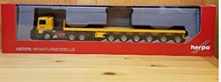 """herpa 311434 Semi-Trailer Renault R 360 6x4 with 4""""Franz Bracht Ballast Weights"""