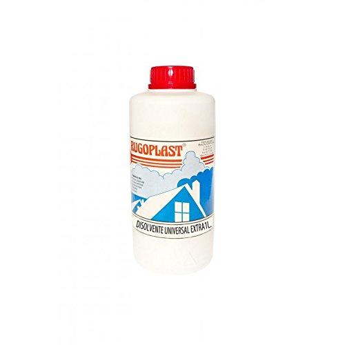 Disolvente universal extra diluyente para pinturas y barnices en general, limpieza de utensilios (1L) Envío GRATIS 24 h.