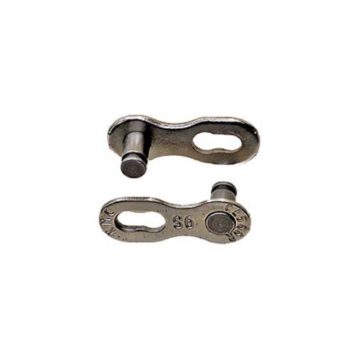 KMC-Link 9-fach CL-566-R-SET = 2 Hälften-LOSE-1/2 x 11/128, Silber, 1/2 x 11/128 Zoll