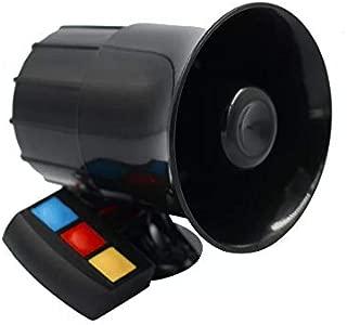 BEESCLOVER 30W 12V 3 Tone Sound Loud Car Motorcycle Warning Alarm Police Fire Siren Horn