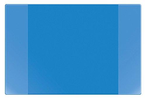 Veloflex 4680351 Schreibunterlage Velocolor, Schreibtisch-Unterlage, mit Kalender, 40 x 60 cm, blau