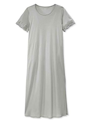 CALIDA Glamorous Nights Kurzarm-Nachthemd, Länge 125cm Damen