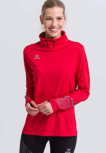 ERIMA Damen Longsleeve Race Line 2.0 Running, rot, 42, 8331909
