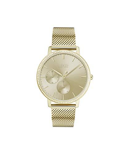 Hugo Boss Damen Multi Dial Quartz Uhr mit Edelstahl Armband 1502520