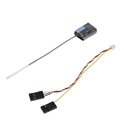 BianchiPamela Flysky FS-A8S 2.4G 8CH Mini Receiver with PPM i-Bus SBUS Output for Quadcopter