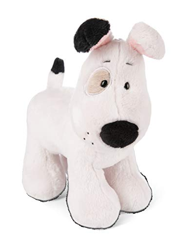 NICI- Peluche de pie Perro Love 20cm, Color Blanco (46084)