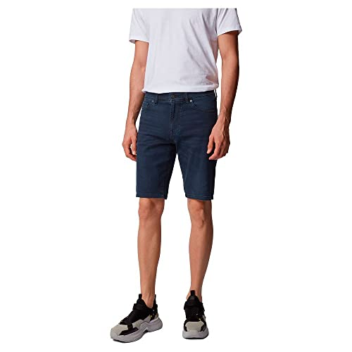 BOSS Maine-Shorts BC-l-p Pantalones Cortos, Azul (Dark Blue 401), W32 (Talla del Fabricante: 32) para Hombre