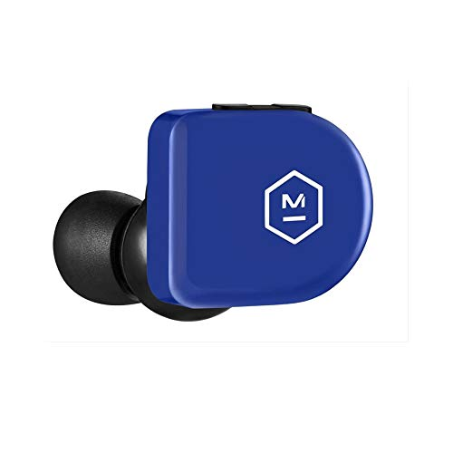 Master & Dynamic MW07 GO True Wireless Earphones - Water Resistant Earbuds - Sport & Travel Bluetooth, Lightweight in-Ear Headphones - Electric Blue