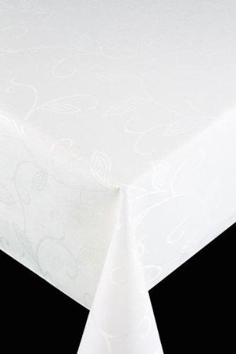 friedola, Tovaglia runner Flair-Royal, Bianco, 40 x 140 cm