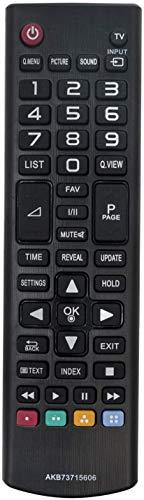 ALLIMITY AKB73715606 AKB74475403 Sub AKB73715603 Mando a Distancia reemplazado por LG TV 39LN5400 42LN5400 42PN450B 47LN5400 50LN5400 50PN450B 32LS550 32LB561 39LB561 49LB550 47LB561 50LB561 50PB560