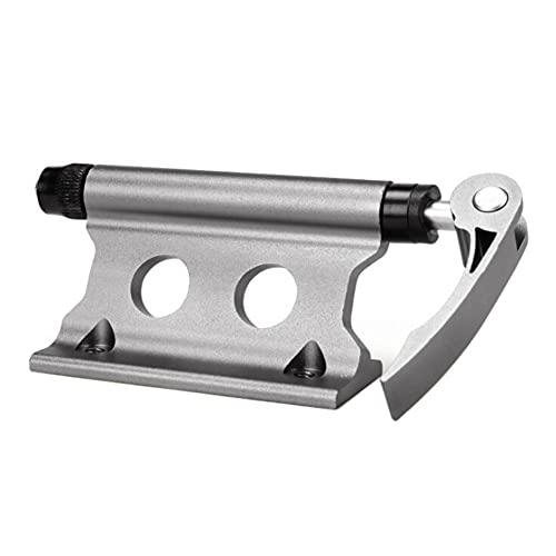 Lilhowcy Bike Block Fork Mount, Bicycle Front Fork Fixed Clip Luggage Rack, Aluminum Alloy Release Fork Mount Truck Bed for Truck/Trailer/Bikes