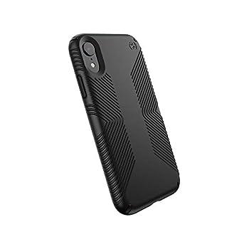 Speck Products Presidio Grip iPhone XR Case Black/Black